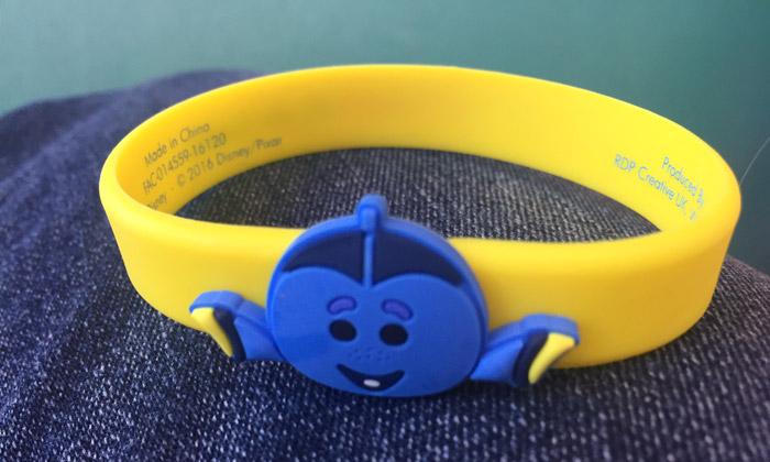 Closeup of Dory Tsum Tsum Bracelet