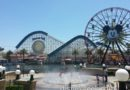 The fountains are active in Paradise Park today
