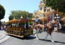 #Disneyland Main Street USA horse drawn street car being taken offline
