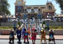 Mickey, Minnie & the gang in Town Square #Disneyland60