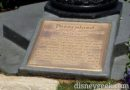 #Disneyland dedication plaque, tomorrow the park turns 61