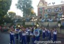 #Disneyland All-American College Band in Town Square