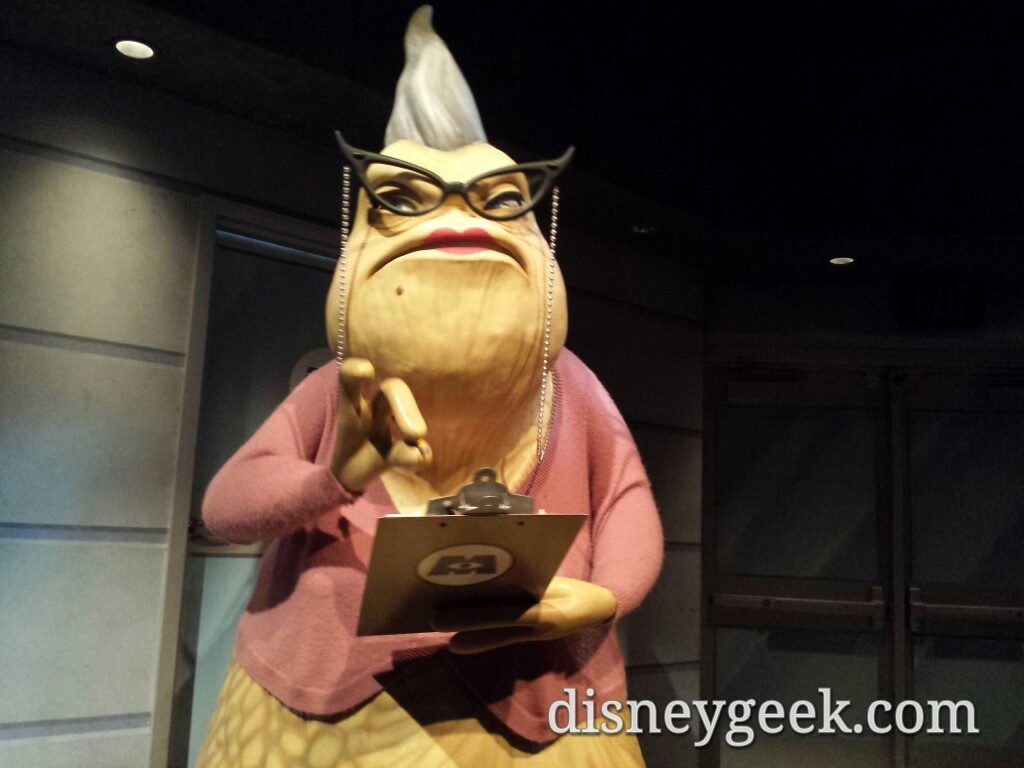 Uncategorized Roz From Monsters Inc roz at monsters inc in disney california adventure the geeks adventure