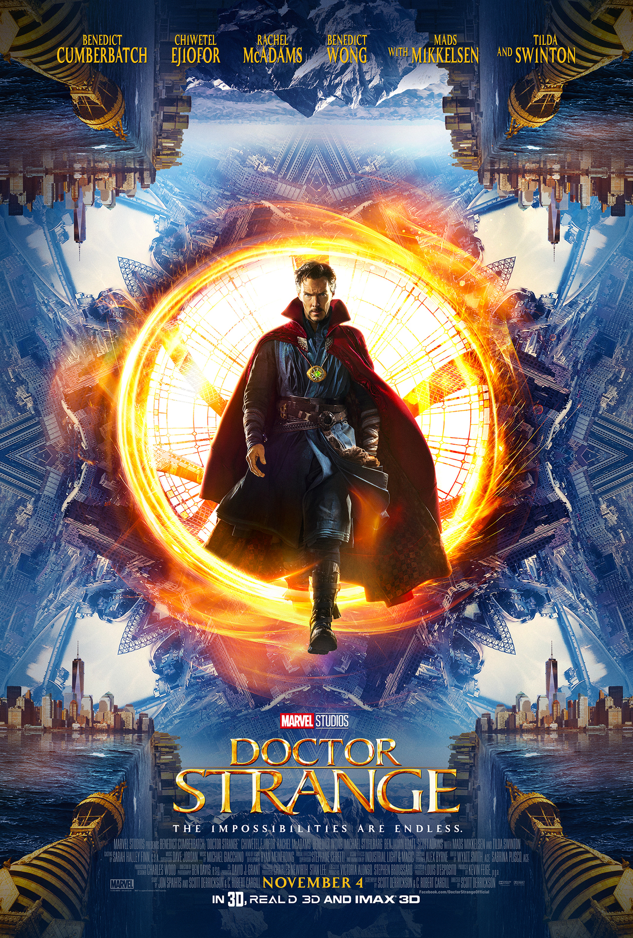 Doctor Strange Poster - One Sheet