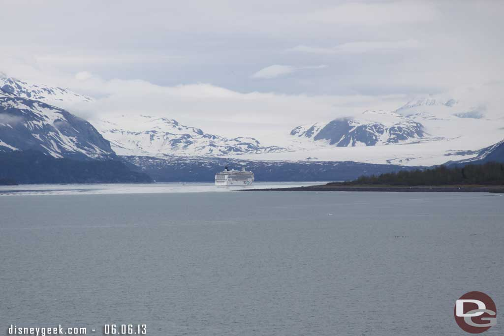 Entering Glacier Bay National Park - Alaska