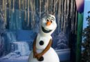 Olaf in Hollywood Land at Disney California Adventure