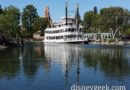 The Mark Twain is still in port in Frontierland