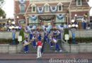 2016 #Disneyland All-American College Band last train station set #aacb