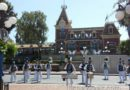 #Disneyland Band performing in Town Square as I entered the park