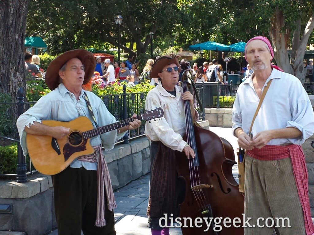 The Bootsrappers in New Orleans Square
