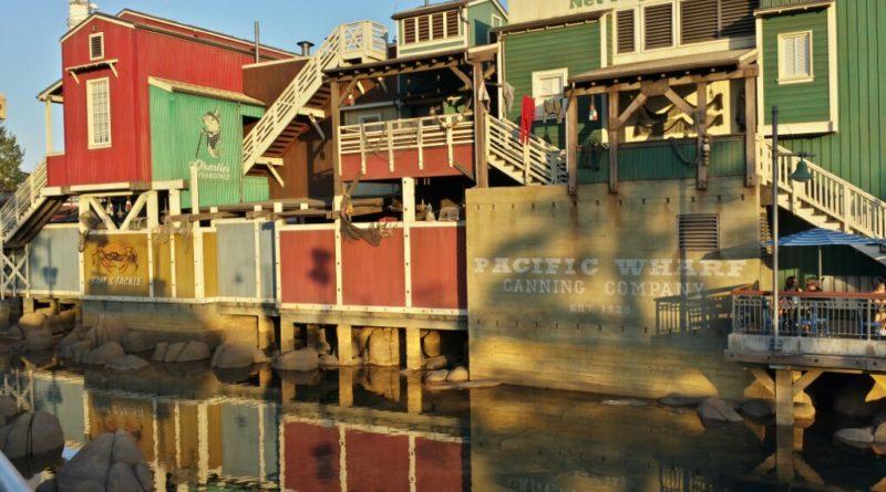 Pacific Wharf in Disney California Adventure