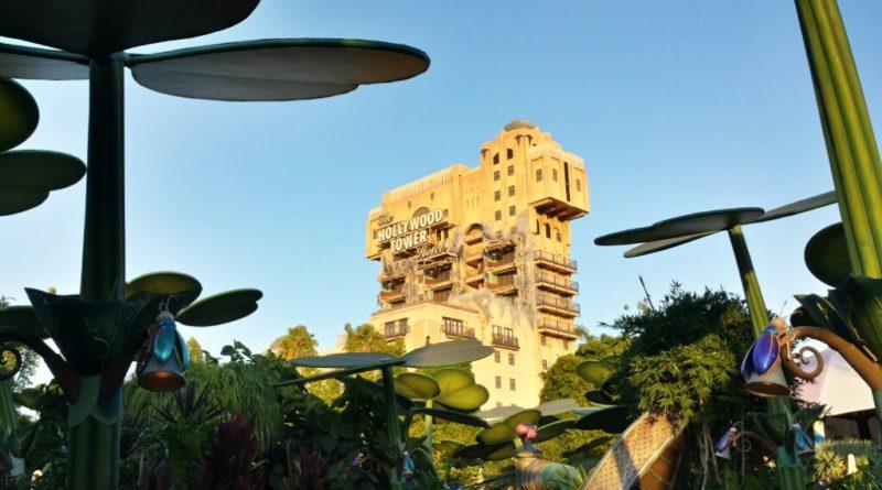Hollywood Tower Hotel from Flik's Fun Fair