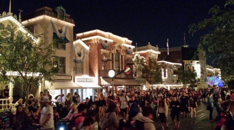 Found a spot on Main Street USA for #PaintTheNight #Disneyland
