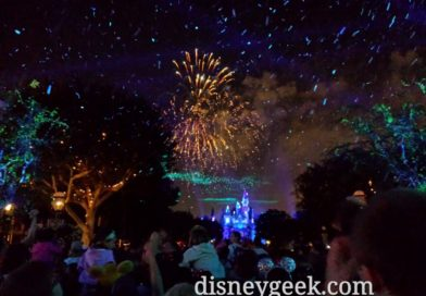 #DisneylandForever to close out my evening