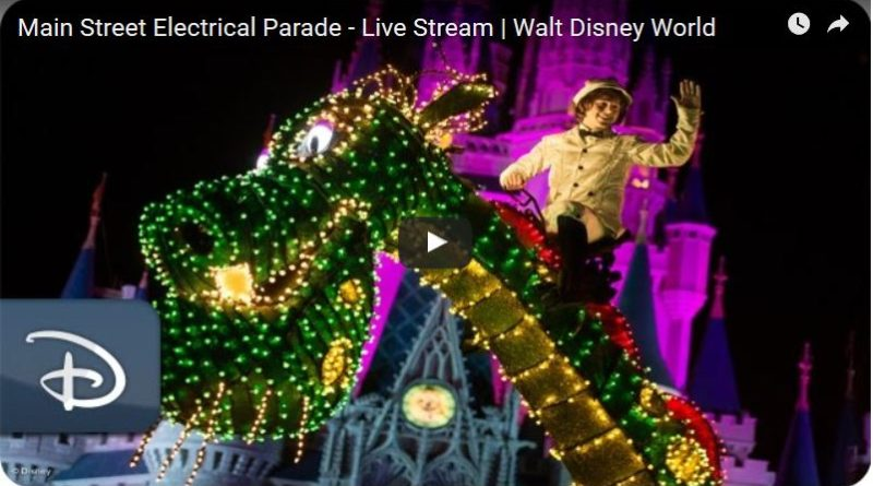 Main Street Electrical Parade Webcast Replay