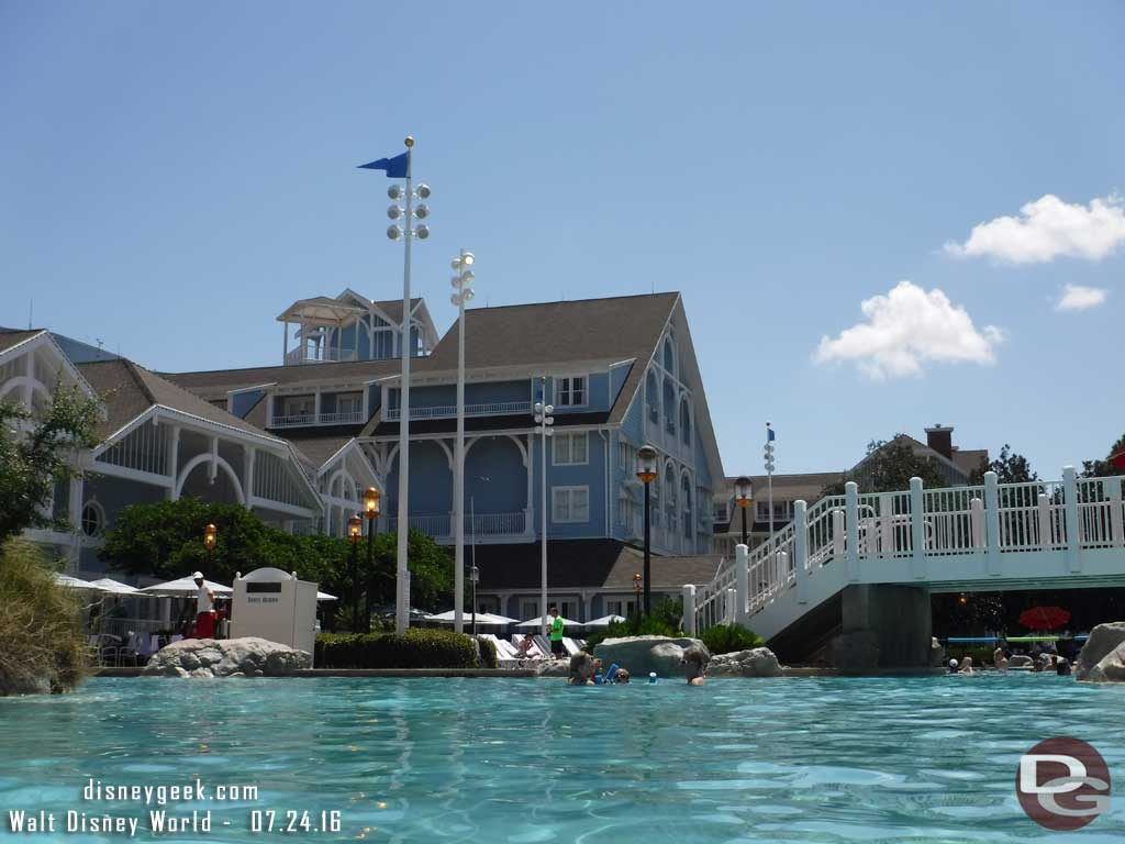 Disney's Yacht & Beach Club Resort - Stormalong Bay