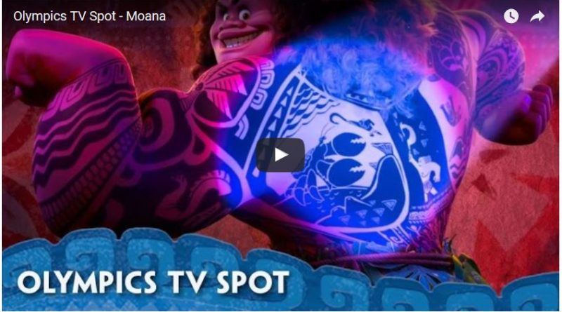 Moana - Olympics TV Spot
