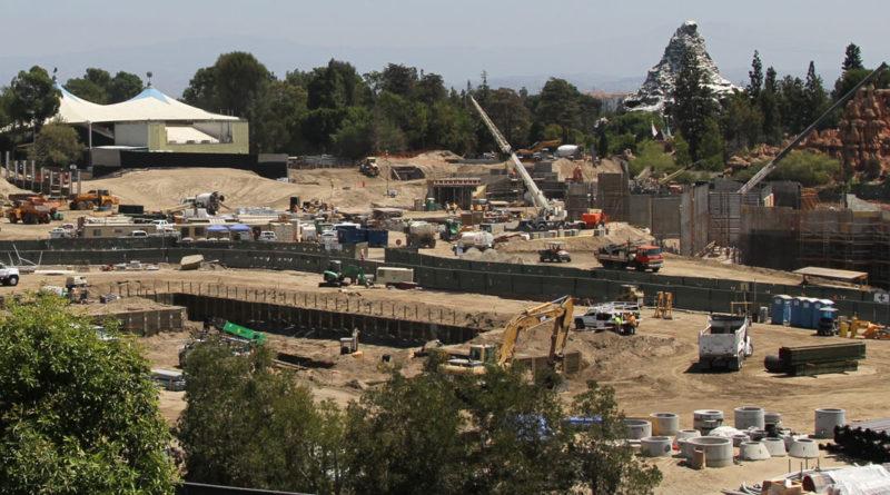 Disneyland Star Wars Construction