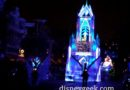 Elsa is by herself tonight #Disneyland Paint the Night #Frozen