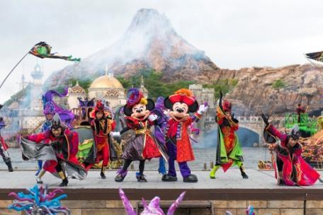 """Disney's Halloween"" a t Tokyo DisneySea"