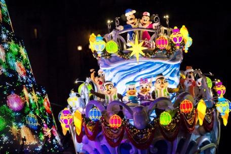 """""""Christmas Wishes"""" at Tokyo DisneySea"""