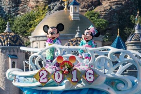 Ne w Year's Program a t Tokyo DisneySea