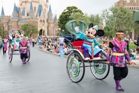 """Disney Tanabata Days"" a t Tokyo Disneyland"