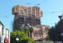 Tower of Terror at Disney California Adventure has scaffolding going up