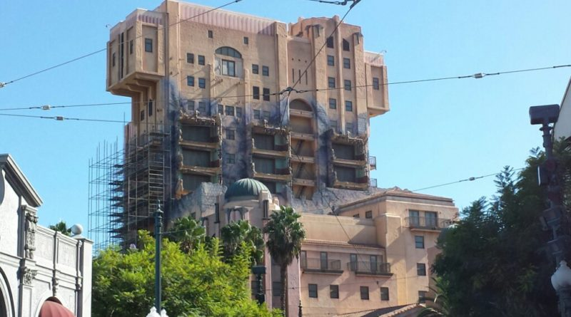 Disney California Adventure Tower of Terror 9/30