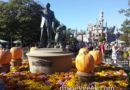 #Disneyland Partners Statue with Sleeping Beauty Castle