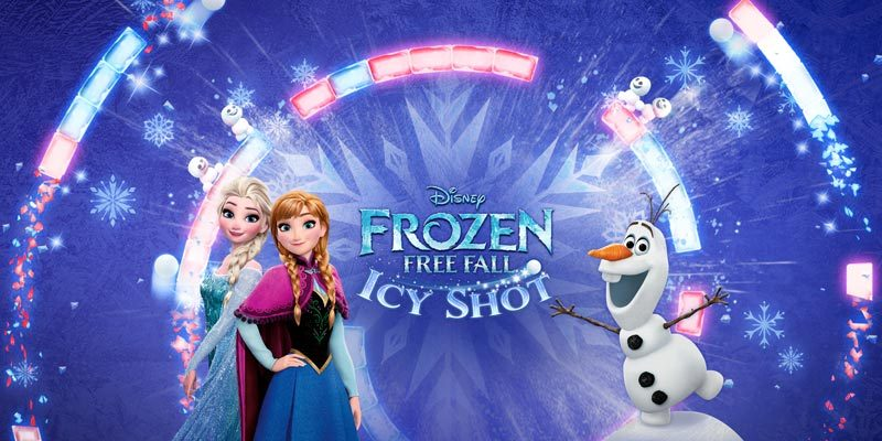 r the First Time in Forever…It's Time to Play! Frozen Free Fall: Icy Shot