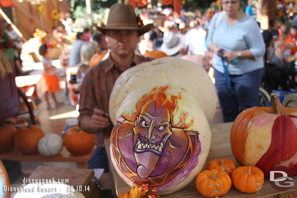 Disneyland Pumpkin 2014 - Hades