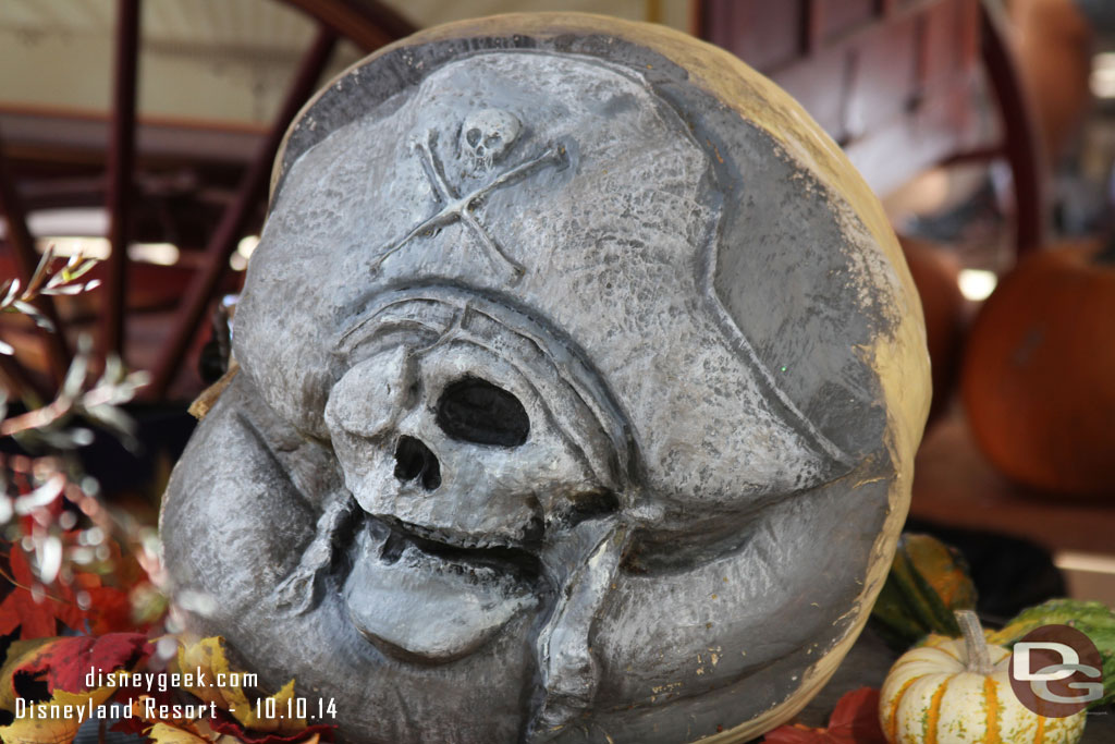 Disneyland Pumpkin 2014 - Pirates