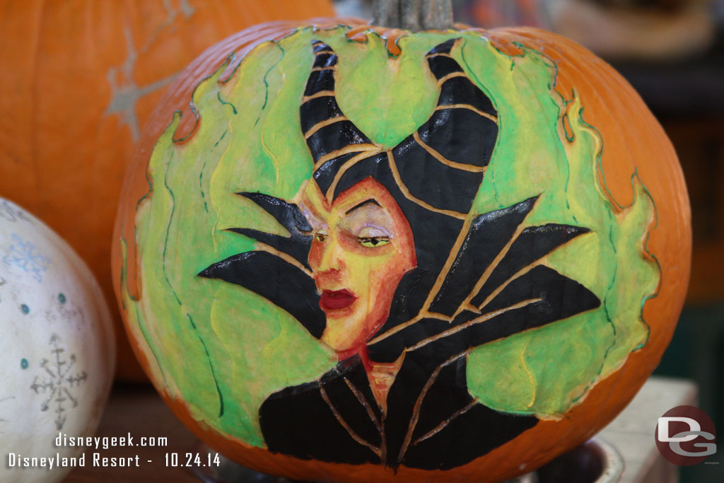 Disneyland Pumpkin 2014 - Maleficent
