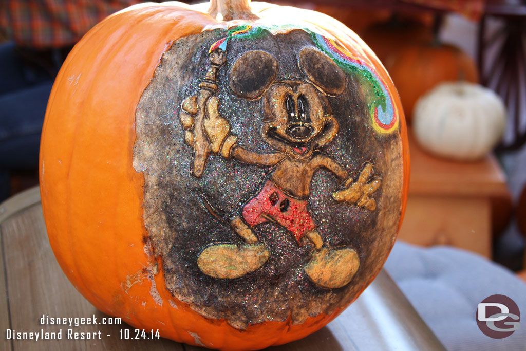 Disneyland Pumpkin 2014 - Mickey
