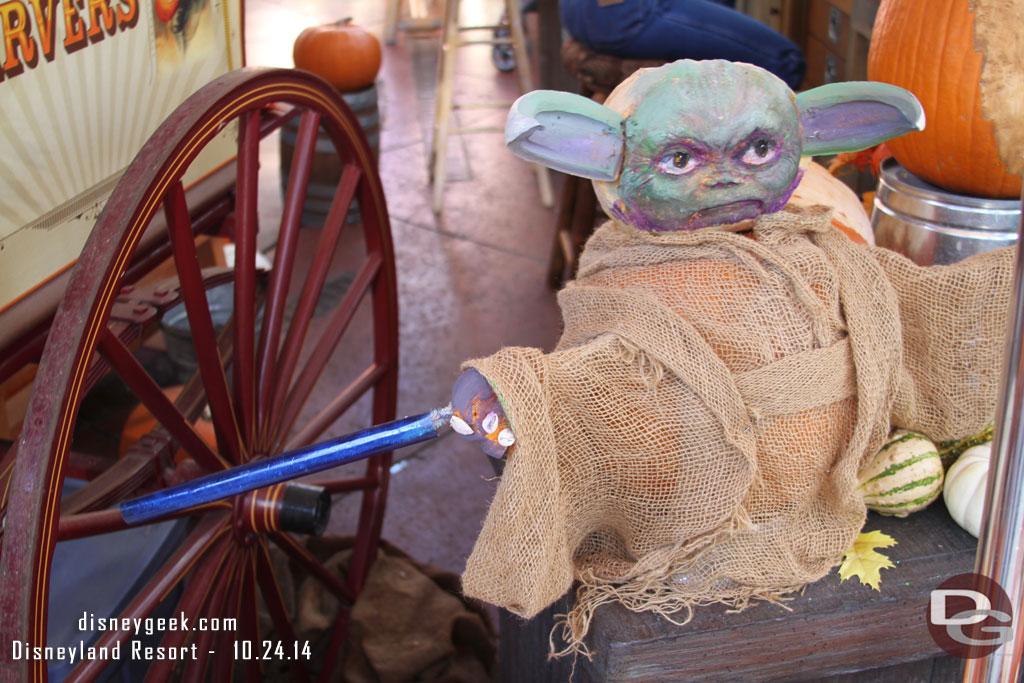 Disneyland Pumpkin 2014 - Yoda