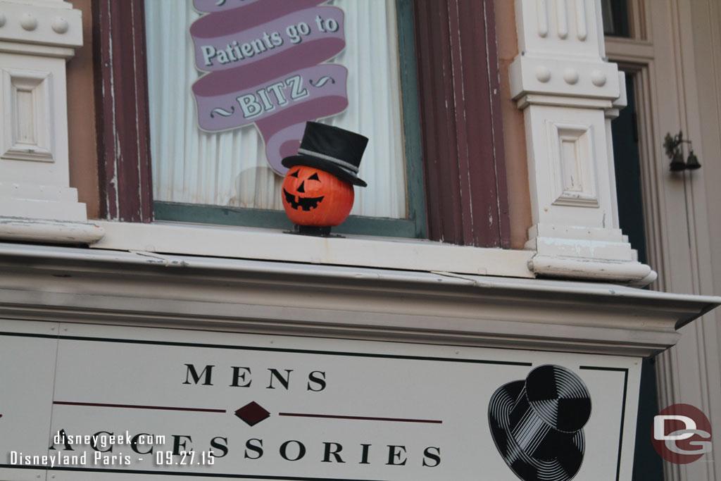 Disneyland Paris - Main Street Pumpkins (2015)