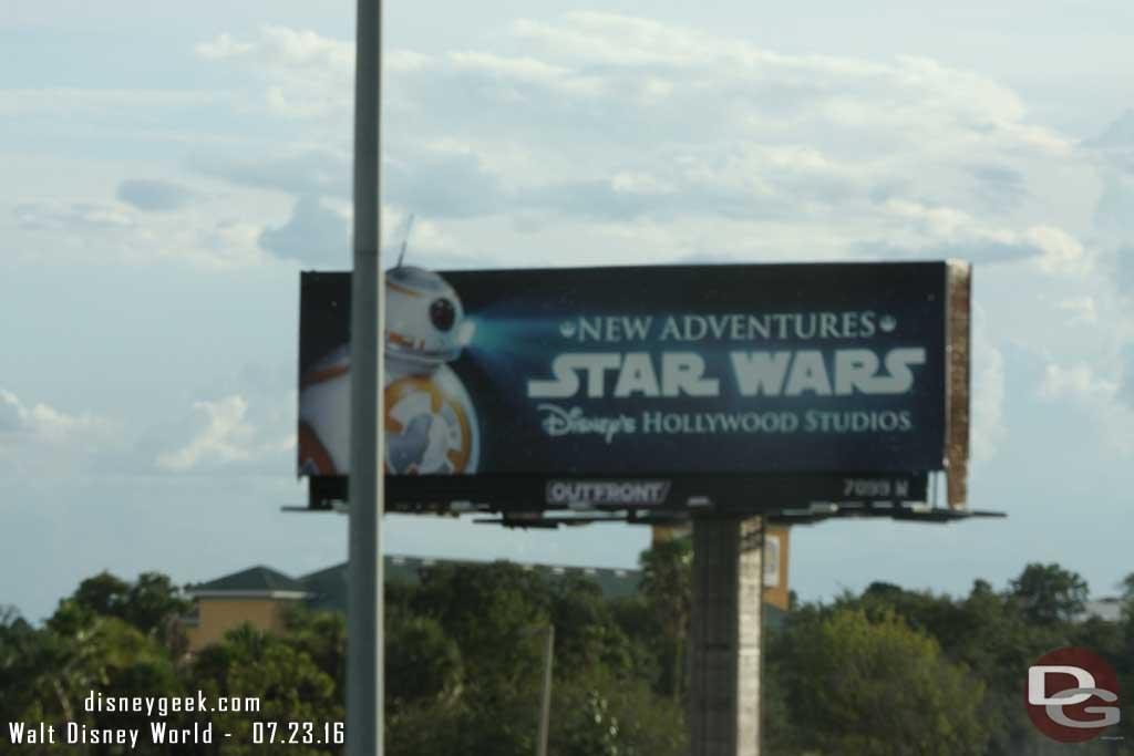 Star Wars @ Disney's Hollywood Studios Billboard