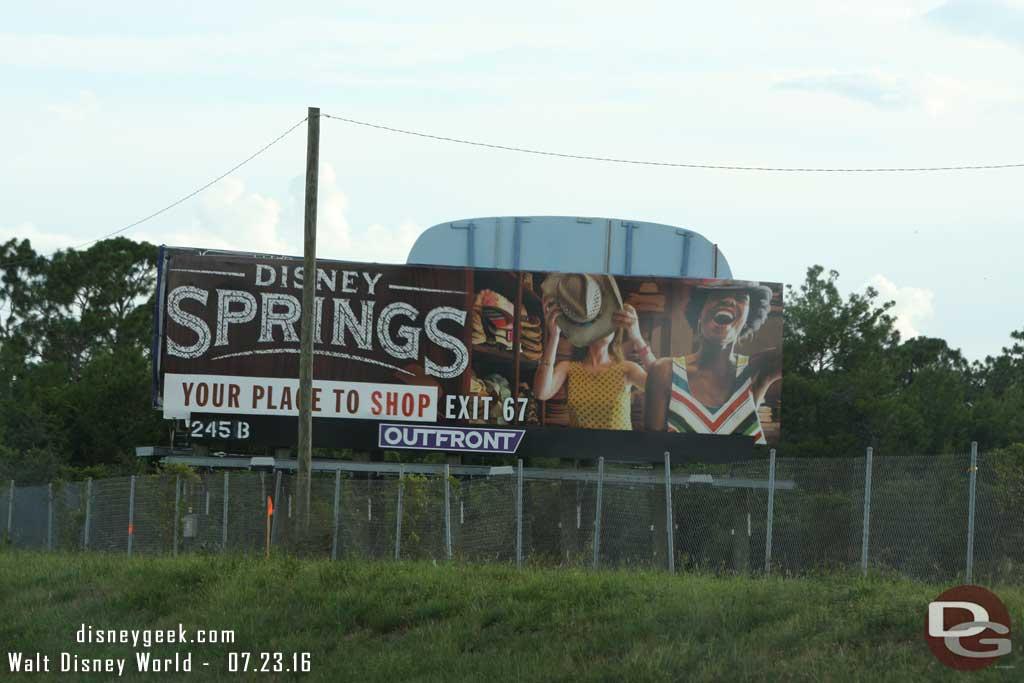 Disney Springs Billboard