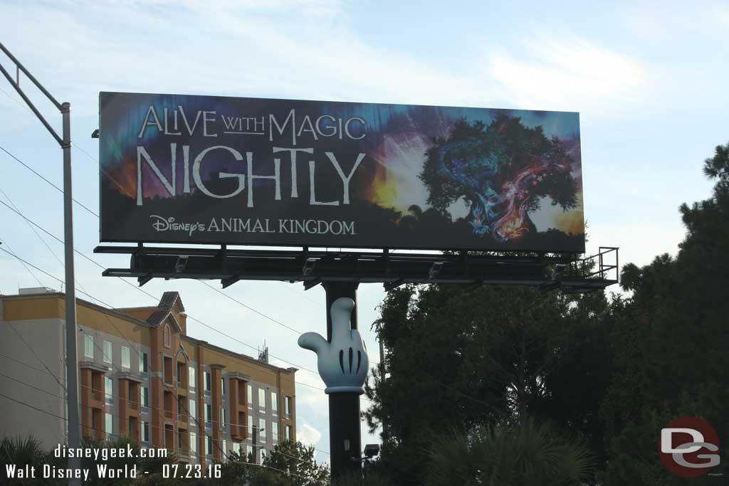 Billboard for Animal Kingdom Alive With Magic