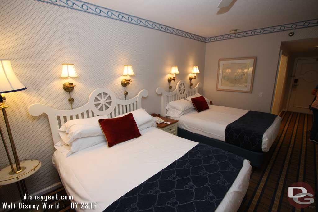 Disney's Yacht Club Resort - Beds