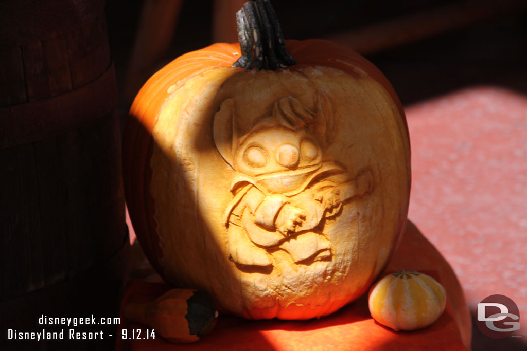Disneyland Pumpkin 2014 - Stitch