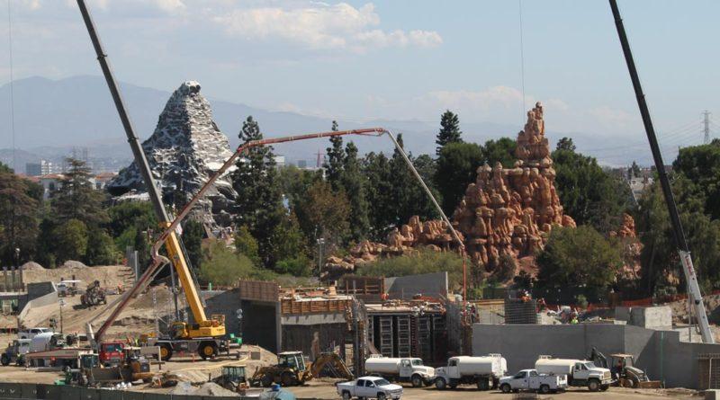 Star Wars Land Construction Sept 30, 2016