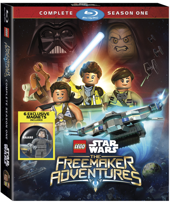 LEGO Star Wars The Freemaker Adventures Complete Season One arrives in our galaxy on Blu-ray and DVD on Dec. 6th.