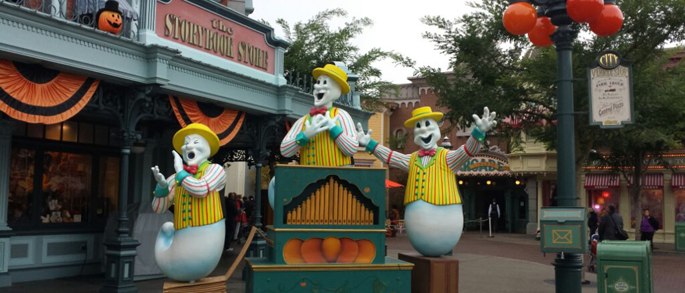Disneyland Paris Halloween 2015 Pictures