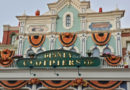 Disneyland Paris Main Street Pumpkins 2015 Pictures
