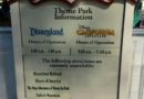 Just arrived at #Disneyland – today's posted closures