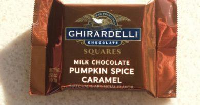 Ghirardelli is distributing pumpkin spice caramel squares at Disney California Adventure