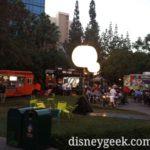 Food trucks at Downtown Disney