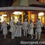 Scarolers performing in Downtown Disney